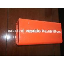 Burly pre-galvanized square steel pipe
