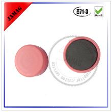 2015 JM Round big neodymium magnet clasp