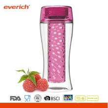 2016 Everich New Fruit Infuser Eco-Friendly BPA Botella de agua libre de Tritan