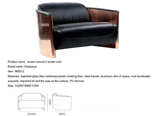 Aviator Tomcat Chair