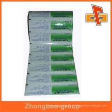 Embalagem flexível multicamada impresso laminado de alumínio filme rolo saco para fornecedores de alimentos china