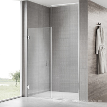 Seawin Stainless Steel pivot hinge Frameless 90 Degree swing Bathroom Glass Shower Door