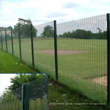 3m High Galvanized Anti-Climp 358 Fence