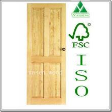 Classic Design Wood Veneer Door Yas359