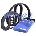 Courroie de distribution automobile, courroie moteur, courroie d'entraînement (CR / CSM / HNBR 113RU25)