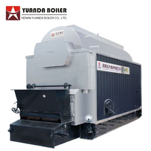 Caldera de agua caliente industrial de combustible de biomasa totalmente automática