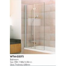 Top Duschpaneel auf Badewanne Wtm-03D73