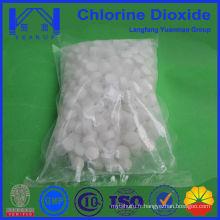 Factory Supply Tablette à base de dioxyde de chlore pour injection d'eau au champ pétrolifère