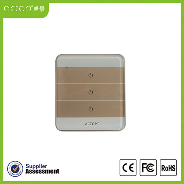 Smart Home Zigbee Switch Three Way