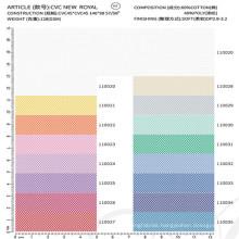 latest design 40 polyester 60 cotton fabric shirt fabric