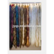 Оптовая 60*120см длинные волосы козьего меха, пластины