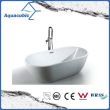 American Style Ellipse Acrylic Freestanding Bathtub (AB6905)