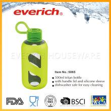 Safe, auslaufsichere Großhandel Plastikflaschen mit Strohdeckel