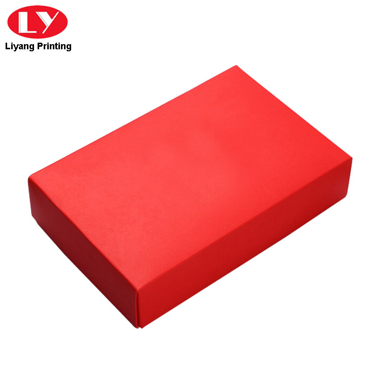 Scarf Box Red