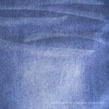 Mercerisierter Warp Slub Denim Stoff aus 100% Baumwolle