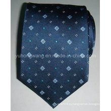 Новый дизайн мужская шелковая тканая жаккардовая галстук