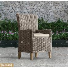 ALAND COLLECTION - 2017 Nouveau design PE en osier en rotin synthétique meuble de jardin set de repas table ronde en bois et 4 chaises