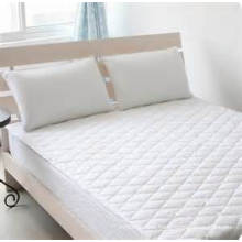 Quilted Bed Mattress Protector Hotel Mattress Pad Protector