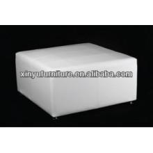 Customized white ottoman stool for sale XW1007