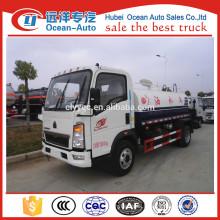 HOWO 5000 liters mini water tank trucks price