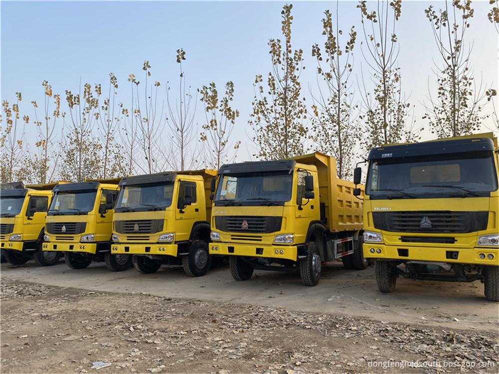 Refursbished Used Howo 6x4 10 Wheels Dump Truck4