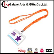 Пользовательские дешевые пластиковые ID выставка значок карты держатель шеи талреп