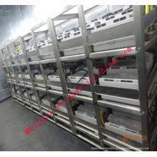 Aço inoxidável para baterias Steel Frame Battery Rack Rack de carregamento Serviço personalizado Rack de montagem de bateria 316L 204 304
