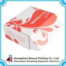 Небольшой цветной картон белый рифленая рециркулированная коробка