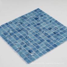 Soulscrafts Blue Glass Mosaic Swimming Pool Tile With Cheap Price