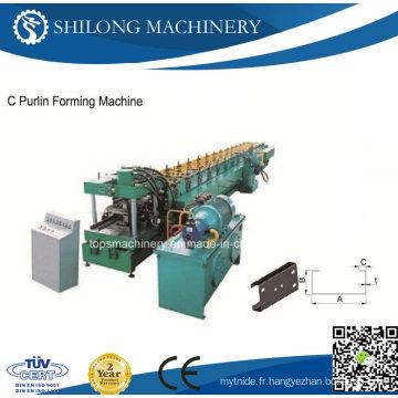Machine de formage de rouleaux de matériau de construction de quille légère