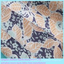 100% вискоза текстильная ткань с цветочным рисунком для женской одежды