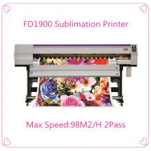 Maquinaria de transferencia de calor para papel de sublimación
