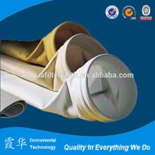 Material de filtro de alta temperatura para saco de filtro de poeira