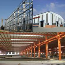 Цех стальных конструкций / Здание стальной конструкции (SS-36)