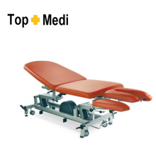 Topmedi Hospital Furniture Height-Adjustable Examining Couch with Five Pillows
