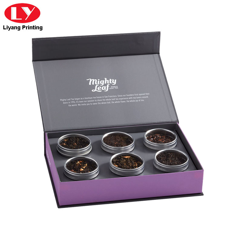 Magnetic Tea Set Box