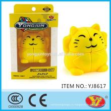 2016 новый продукт YJ YongJun Fortune кошка Magic Puzzle куб образовательные игрушки английский Упаковка для продвижения