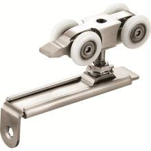 Hölzerne Türen Roller Hardware mit Aluminiumlegierung Schiene