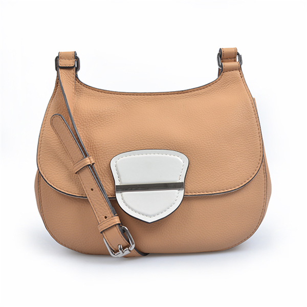 ladies genuine leather fashion saddle bag women stylish crossbody bags female handbags
