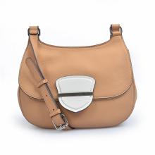 Средняя передняя сумка с клапаном и кожаной сумочкой