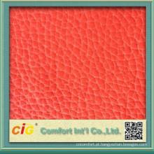 Material de couro popular de alta qualidade por atacado, moda