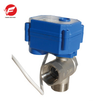 Motorized water automatic water shut off electric automatic control valve