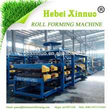 Hebei xinnuo EPS/ROCK WOOL continuous sandwich panel making machine