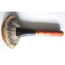 Cepillo de pelo de tres colores profesional cepillo de ventilador de la fundación