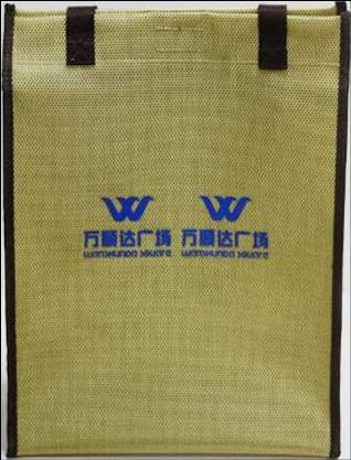 Supermarkets fashion PE shopping bag