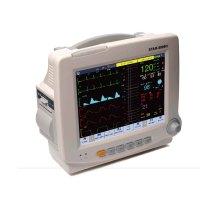 8.4 transporte traslado emergencia Monitor de paciente, portátil UCI signos vitales Monitor ECG ECG SpO2 NIBP Monitor de pantalla táctil de la pulgada