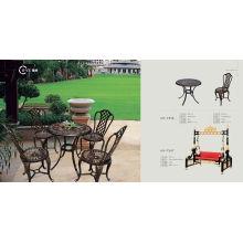 Outdoor Cast Aluminium Table (HY-T016)