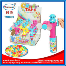 Colorful Cooling Pocket Hand-Drive Fan Toy with Candy