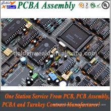 control de acceso pcba con oro de inmersión y 94v0 rohs pcb board pcba fábricas