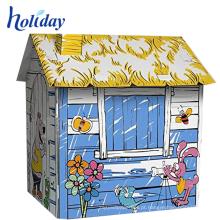 playhouse ao ar livre do brinquedo dos miúdos do brinquedo